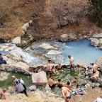 Diamond Fork Hot Springs~~~ What a HOT place to be in Utah!